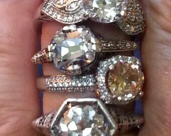 Layaway Plan- Antique Ring - Engagement Ring
