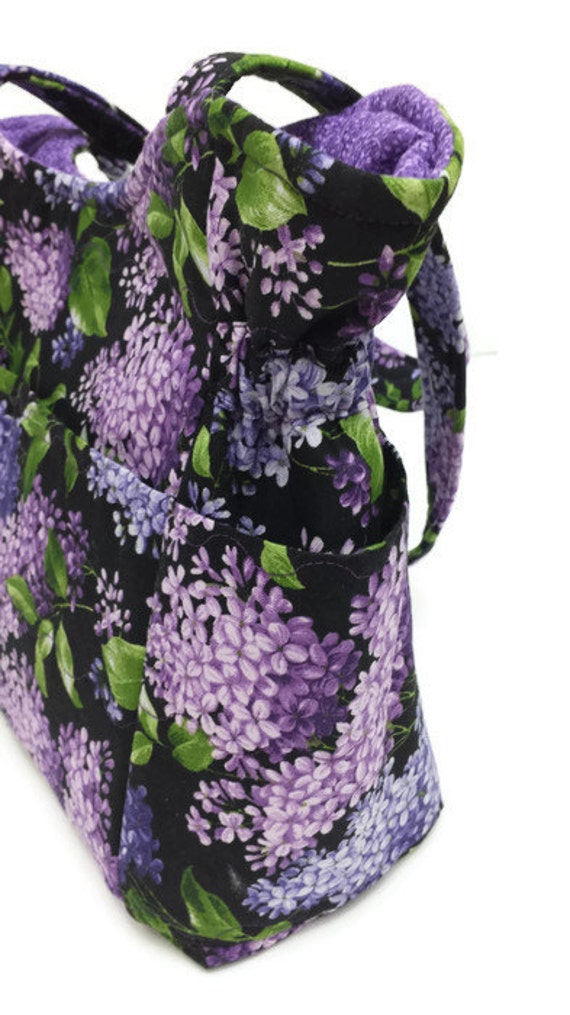 medium purple lilac shoulder bag travel handbag diaper bag. Black Bedroom Furniture Sets. Home Design Ideas