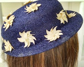 Vintage Navy Hat