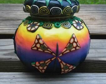 Dark Horizon Butterfly Jar