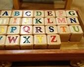 Alphabet Blocks and Wagon Set