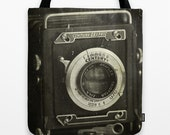 1949 Century Graphic Camera Photo Tote Bag, Tote Bag, Still Life Photography, Vintage Camera, Photo Tote, Reusable Tote
