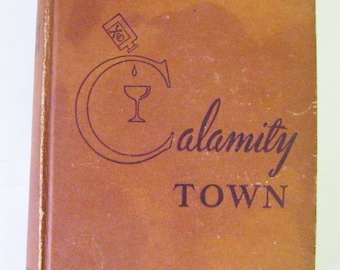 "Rare 1947 Ellery Queen ""Calamity Town"" Hardcover Book  Mystery Very Collectible"