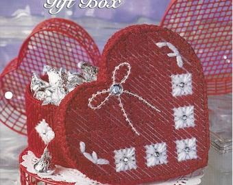 valentine gift box plastic canvas pattern the needlecraft shop decorative trinket candy box - Valentines Gift Boxes
