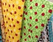Custom Made Ladybug Quilt Reserved for Kerri