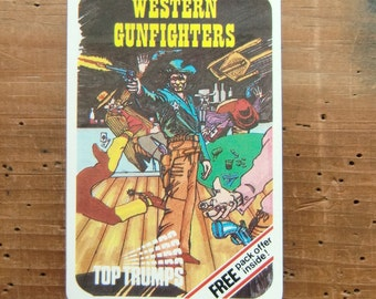 Top Trumps - Western Gunfighters - Card Game