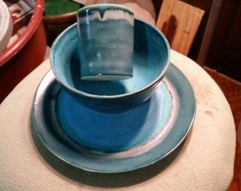 Ice Blue Feast Set
