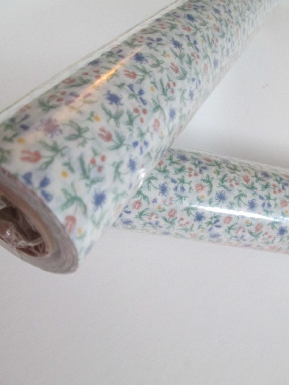Floral Drawer Liner Shelf Paper Contact Paper Craft Supply