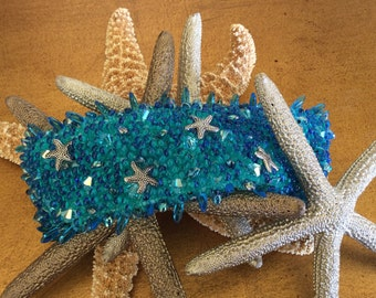 Resort Ready Handmade Beaded Cuff Bracelet