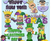 2015 Holiday Kids 1  Clip art  Clipart Graphics  Commercial Use