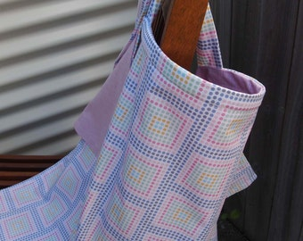 Breastfeeding/ Modesty Cover Pink and Purple Spots