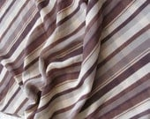 """Sheer Brown Ivory Soft Poly Scarf 14"""" x 40"""" Long"""