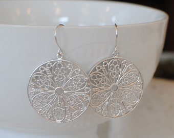 The Gianna Earrings - Silver