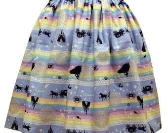 Pastel Cinderella Full Skirt