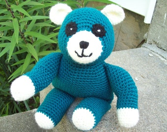 Crochet Teddy Bear // Crochet Bear // Crochet Stuffed Bear // Amigurumi Bear
