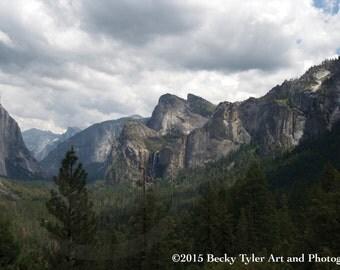 Yosemite Valley, Tunnel View,  Fine Art Photo Print