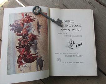Vintage Frederic Remington's Own West Autobiography