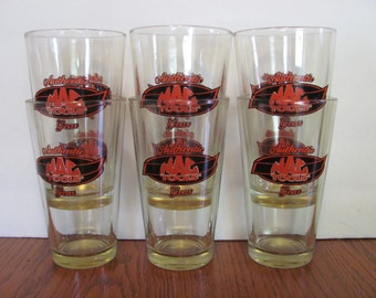 Vintage Mac Tools Authentic Gear Pint Glasses Libbey Barware