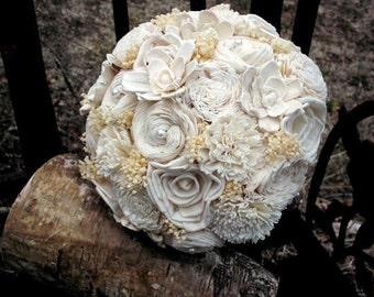 Sola flower bouquet | wedding bouquet | bridal bouquet | sola flower bouquet | keepsake flowers | rustic wedding | rustic bridal bouquet