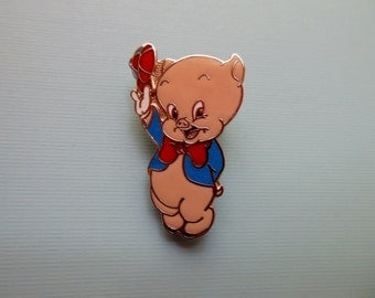 PORKY PIG JEWELRY * Warner Bros. Cartoon Character * Porky Pig * Looney Tunes * Collectible Jewelry * Movie and Cartoon Jewelry