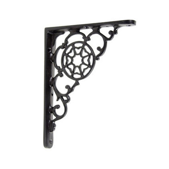iron shelf bracket single shelving cast iron by. Black Bedroom Furniture Sets. Home Design Ideas