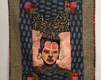 African Tree Warrior Quilt