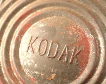 Antique Kodak Darkroom Lantern Oil Lamp Metal Patina Camera