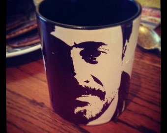 Jeffrey Dean Morgan, I Am Negan, Negan, The Walking Dead, Supernatural, The Saviors, Watchmen, Grey's Anatomy,  Hand Printed Cup