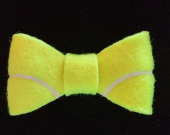 Tennis ball Bow Tie