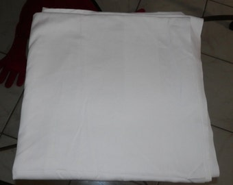 """One Beautiful 100% Egyptian Cotton A&B Paris 72"""" x 72"""" Large White Tablecloth! Pure White <3 Weddings,Catering,Restaurant,Events,++"""