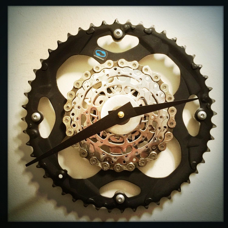 Bike Clock Steampunk Decor Unique Wall Clock Bike Gift For