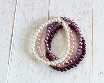 Baby bracelets, girl bracelets , baby girl , photo props, newborn bracelet-beaded baby bracelets-baby anklets-girl bracelets