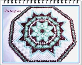 pattern bead weaving doily starlette