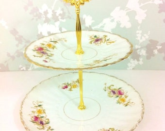 May 2 Tier Vintage cake Stand