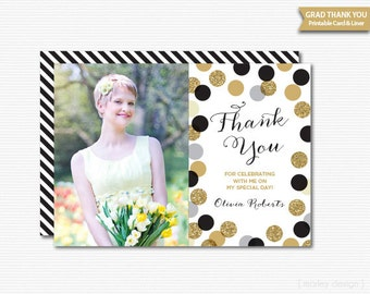 Thank you cards graduation
