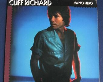 1980 Cliff Richard I'm No Hero Vinyl Record Album