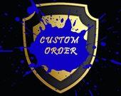 Joseph's Custom Order