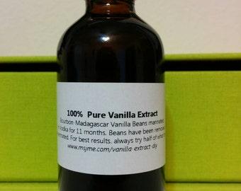 4 oz Pure Vanilla Extract *Free Shipping*