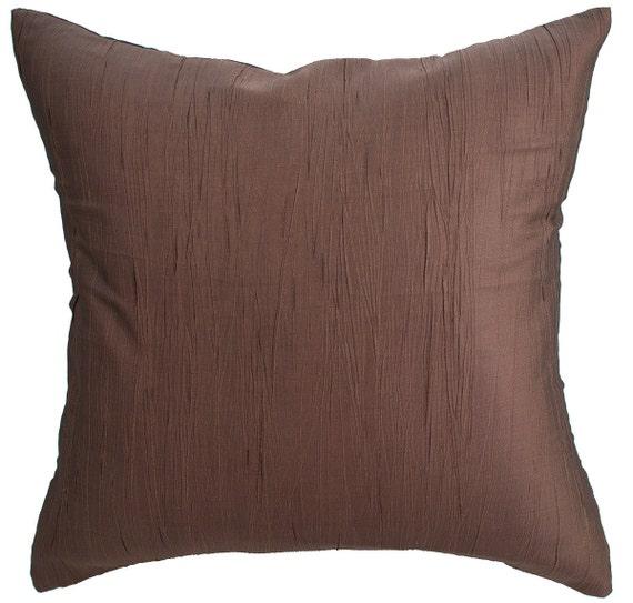 Avarada 16X16 Solid Crepe Throw Pillow Cover by avaradaShop