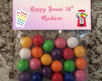 Sweet 16 Bag Topper