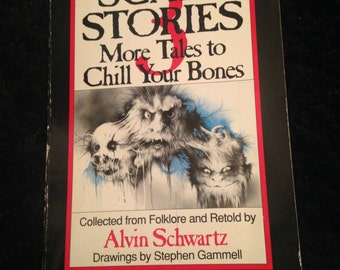 90s More Scary Stories Book