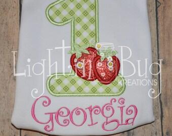 Strawberry Birthday Shirt