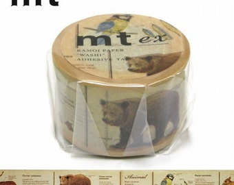 Japan MT ex Washi Masking Tape/ANIMALS