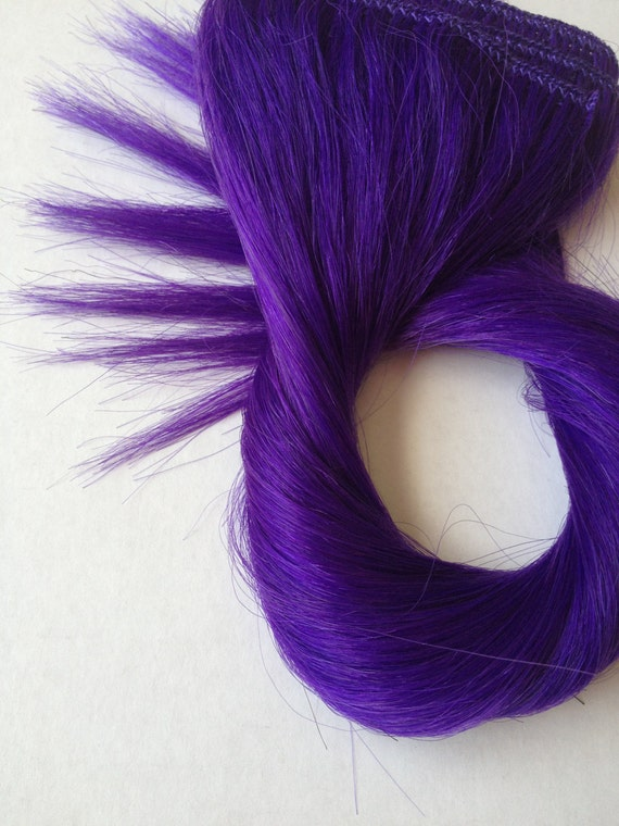 Dark purple clip in hair extensions indian remy hair dark purple clip in hair extensions 110 pmusecretfo Images