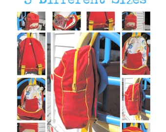 """BACKPACK PATTERN """"Back To School"""""""