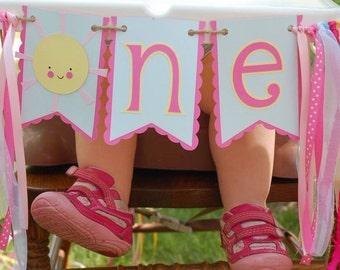 Sunshine High Chair Banner