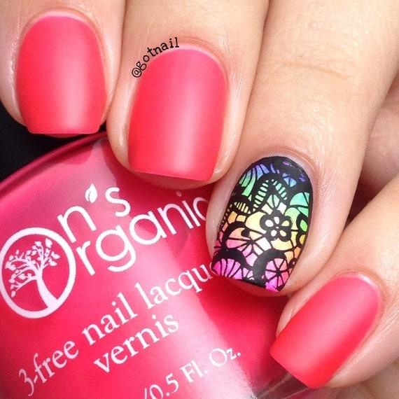 MATTE Pink Nail Polish