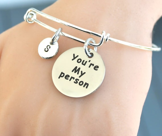 items similar to stainless steel quot you re my person