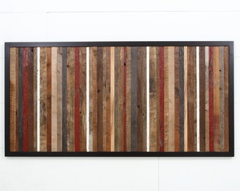 Reclaimed wood wall art,  Different Sizes Available.