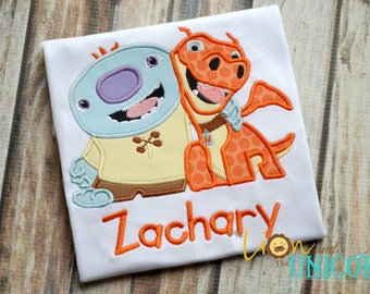 Wallykazam Wally and Norville Shirt - Name can be added for FREE